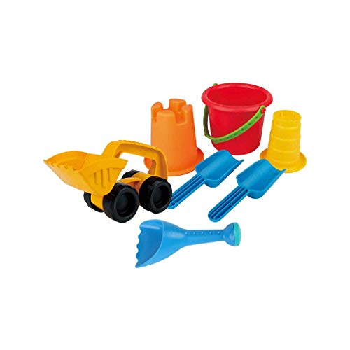 LIUFS-Toy Children's Beach Toy Set Digging Sand and Snow Combination (Color : Multi-Colored, Size : L)