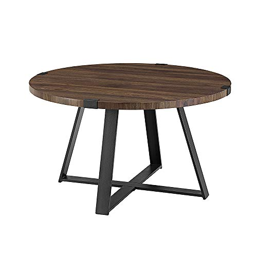 WE Furniture AZF30MWCTDW Coffee Table, Dark Walnut Dark Walnut Coffee Table