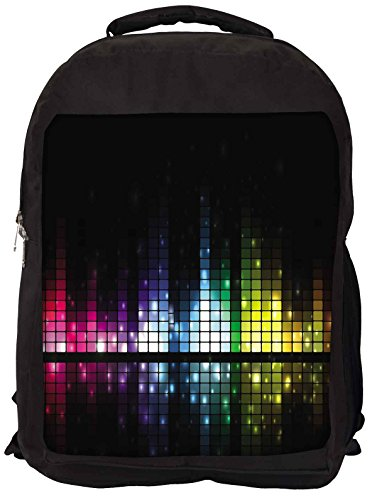 Snoogg Soundbar Laptop Rucksack Gelegenheitsschulrucksack EvSVH
