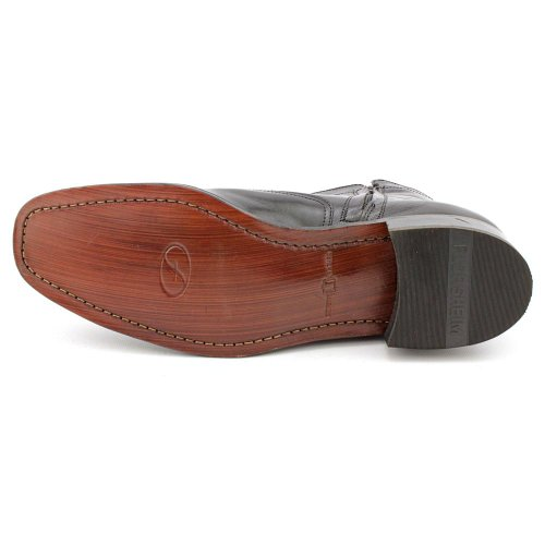 Stivaletto In Pelle Florsheim Essex Men 3e Nero Punta Rotonda