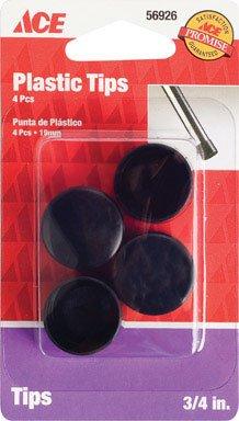 Shepherd Hardware 9113/ACE Black Plastic Leg Tip 3/4
