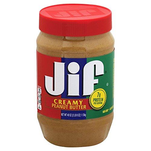 Butter Jam (Jif Creamy Peanut Butter, 40 Ounce (Pack of 8))