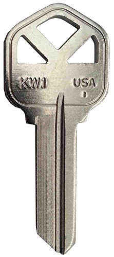 KWIKSET KW1 NICKEL PLATED KEY BLANK *250 (Np Key Blanks)