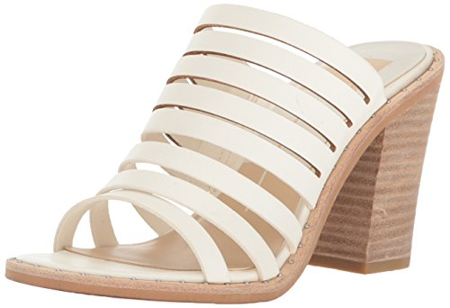 Dolce Vita Women's Lorna Heeled Sandal, Off White Leather, 6.5 M US by Dolce Vita