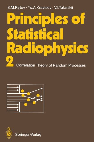 Principles of Statistical Radiophysics 2: Correlation Theory of Random Processes