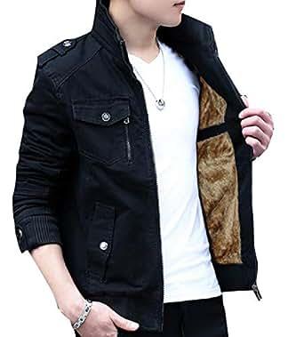 XINHEO Mens Openwork Windproof Multi-Pockets Chunky Venture Jacket Black 2XL