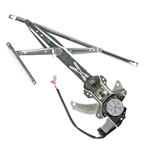 A-Premium Power Window Regulator with Motor for Honda Accord 1998-2002 Coupe Front Right Passenger Side ()