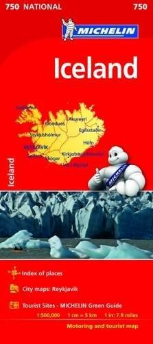 Mapa Iceland Mapa Nacional ISLANDIA MICHELIN Mapas National Michelin: Amazon.es: MICHELIN: Libros en idiomas extranjeros