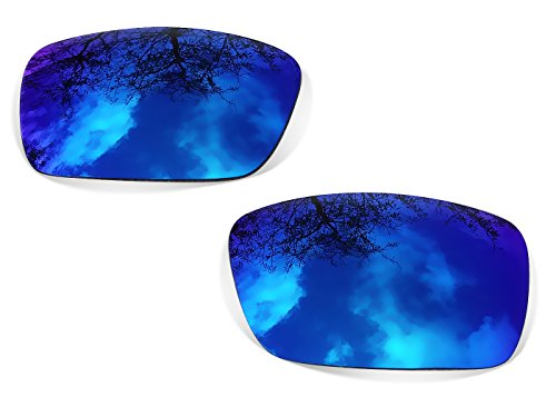 Polarizadas Oakley Restorer para Sunglasses Eyepatch Blue Mirror de Recambio Lentes 1 qpWTw7