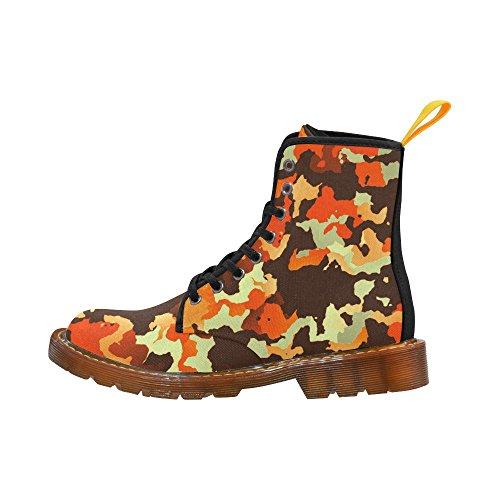 Leinterest Nieuwe Moderne Camouflage Martin Laarzen Modieuze Schoenen Voor Dames