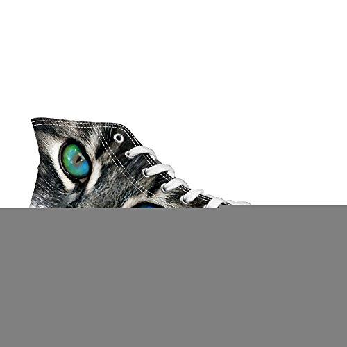 Câlins Idée Hugsidea Élégant Haut Top Toile Lacets Chaussures Casual Hommes Sport Sneakers Us5