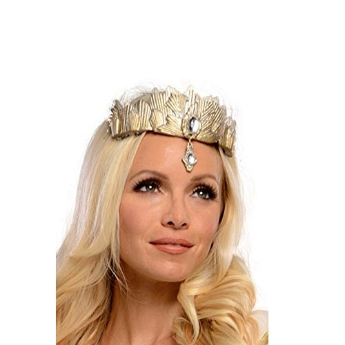 MyPartyShirt The Good Witch Wizard of Oz Great and Powerful Glinda Deluxe Tiara Gold