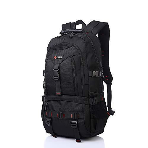 Kaka Water Resistant Laptop Backpack for 17-Inch Laptop Travel Work School College Bag - Case Calf Large Passport
