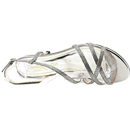 Caparros Frauen THERESA Offener Zeh besonderer Anlass Sandalen mit Absatz Mercury Lizard