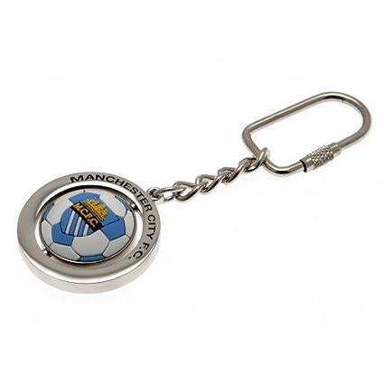 Amazon.com: Manchester City Football Spinner Llavero: Sports ...