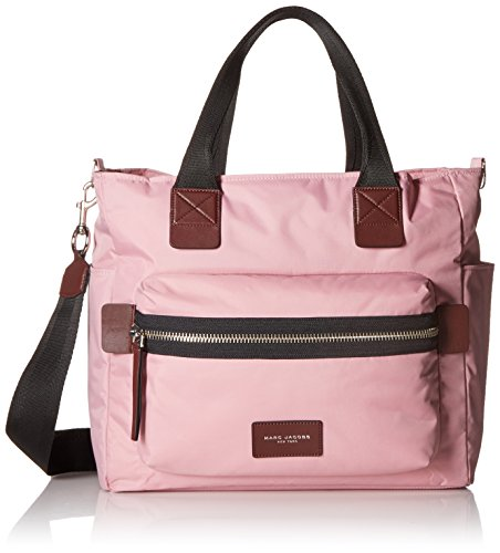 Marc Jacobs Nylon Biker Babybag, Pink Fleur by Marc Jacobs