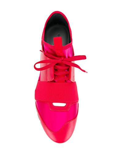 Balenciaga Sneakers 500587W07E1 Damen Rot Leder rwSrH8