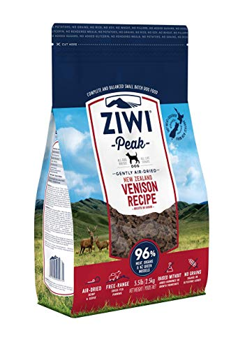 Ziwi Peak Air-Dried Venison Dog Recipe Dog Food (5.5lb)