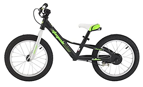 Stampede Bikes Charger Kids Balance Bike, 16 Inch, Black - Gravity 16 Inch Bike