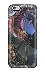 ZippyDoritEduard Iphone 6 Plus Well-designed Hard Case Cover Godzilla Fighting With Monster Protector