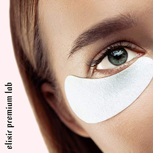 Collagen Eye Patches - Moisturizing Under Eye Pads - Anti Puffines & Dark Circles Spa Treatment - Best Hydrogel Eye Moisturizer for Women & Men - Gel Patch for Dry Skin Under Eye Zone (6 Pack) by Elixir Premium Lab (Image #6)