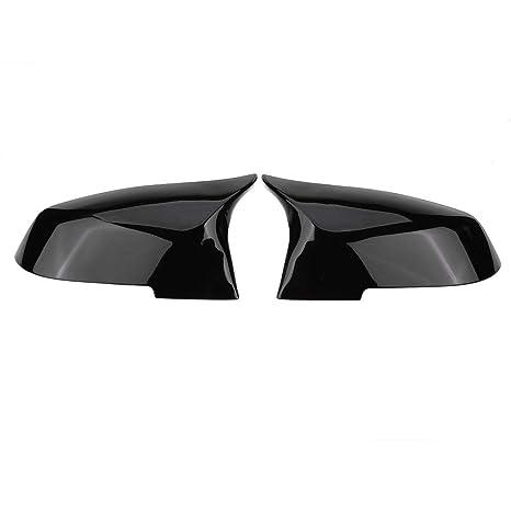 1 Par Tapa de La Cubierta del Espejo Retrovisor (Negro Brillante)