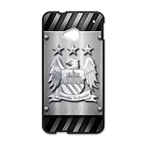 Happy Manchester City Logo Phone Case for HTC One M7