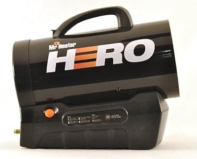 Mr. Heater Hero Forced Air Propane Heater 30,000-60,000 BTU/Hr. MH60CLP