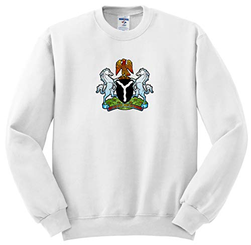 on Designs - Nigeria Coat of Arms - Sweatshirts - Youth Sweatshirt Med(10-12) (ss_300154_11) ()