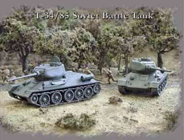 Battle Tanks (2) (T35 Russian Tank)