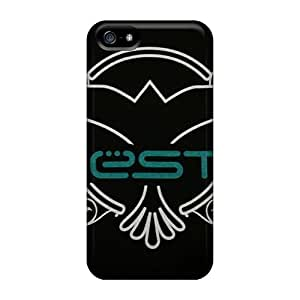 Hot Fashion MJn2299CDKB Design Case Cover For Iphone 5/5s Protective Case (tiesto)