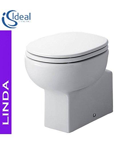 Vaso Bidet Combinato Ideal Standard.Ideal Standard Linda T3011 Vaso A Pavimento Bianco Amazon It Casa