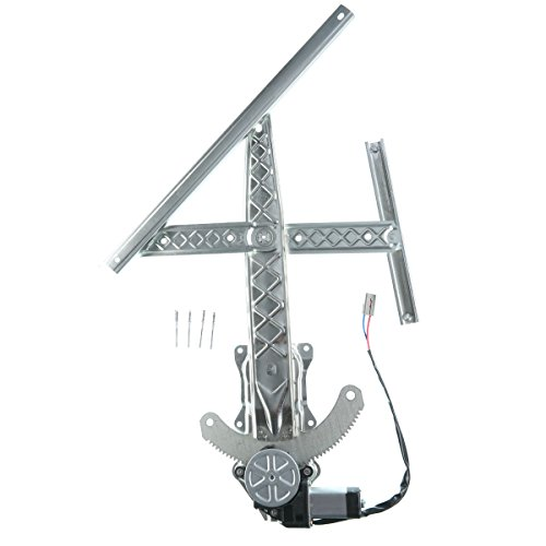 A-Premium Power Window Regulator and Motor Assembly for Ford F-150 F-250 1997-1998 Front Left Driver Side