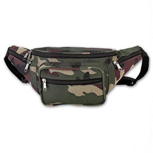 Extreme Pak Invisible Camo - Extreme Pak Invisible Pattern Camo Water Repellent Waist Bag