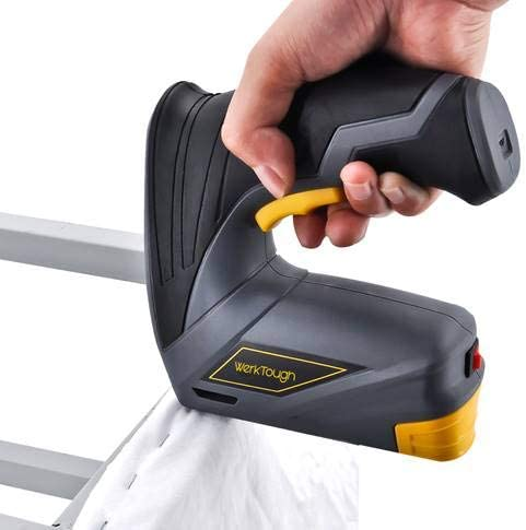 Grapadora el/éctrica inal/ámbrica Werkhard CSG01