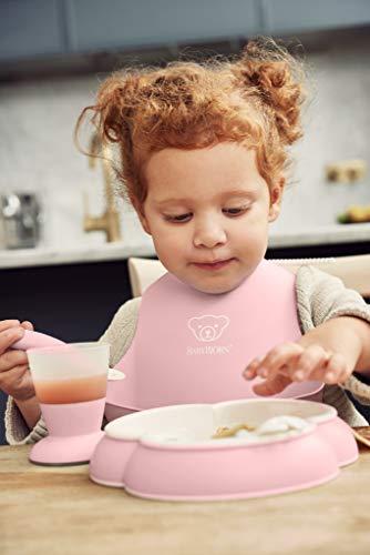 BABYBJORN Baby Dinner Set, Powder Pink by BabyBjörn (Image #5)