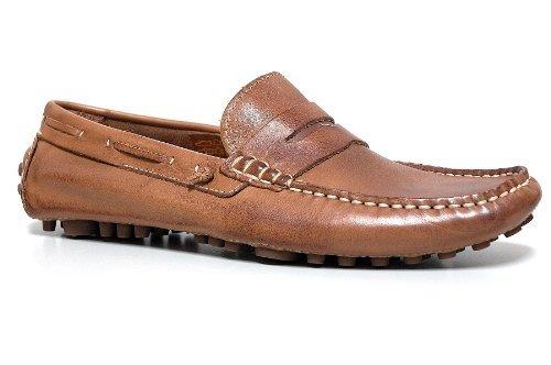 Cafénoir - Zapatos Hombre Deportivos Elegantes Mocasines Color Cuero Encerado y Cepillado - Talla : 45 - Color : Cuero Cepillado: Amazon.es: Zapatos y ...