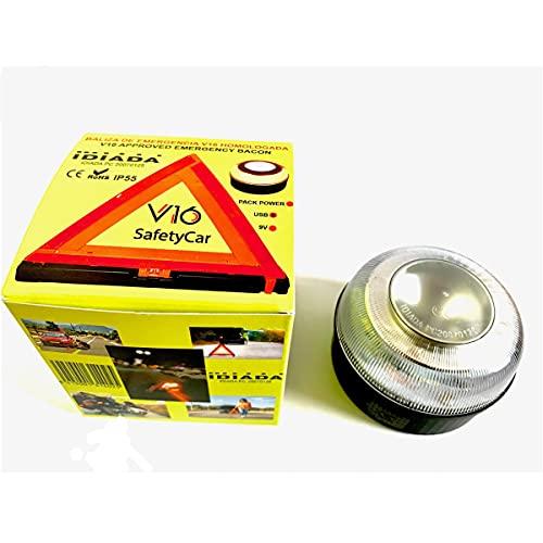 V16 SafetyCar Oplaadbare noodlamp, magnetisch, DGT goedgekeurd