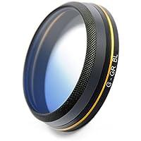 Pgytech Lens Filters Gradual Color Gray Red Orange Blue Camrea Filter for DJI Mavic Pro/Platinum Accessories Camrea Lens Filter (Gradual color orange) (ND8) (G-GR-BL)