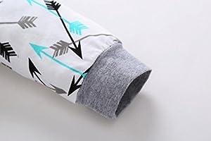 chshe 3pc trajes recién nacido mezcla de algodón para bebé ...
