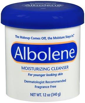 Dry Cleanser Albolene Skin (Albolene Moisturizing Cleanser Fragrance Free 12 oz (Pack of 5))