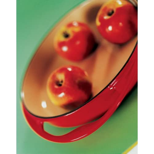 Le Creuset Enameled Cast-Iron 9-3/4-Inch Round Tarte Tatin Pan, Cherry