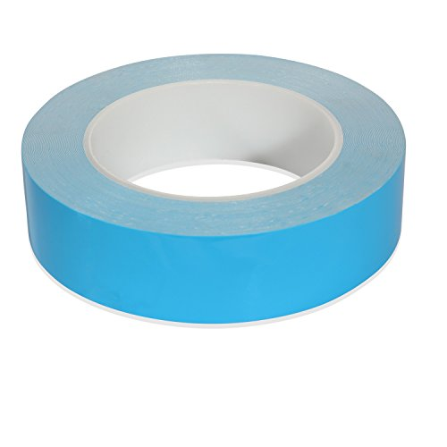 Beevivo 25m x 20mm x 0.25mm Double Side Adhesive Thermal Tape for Heatsinks , LED Lights,  IC Chip, Computer CPU, GPU ,Modules by BEEVIVO