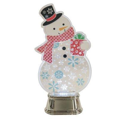 Wonderlights Christmas Lighted LED Flashing Snowman