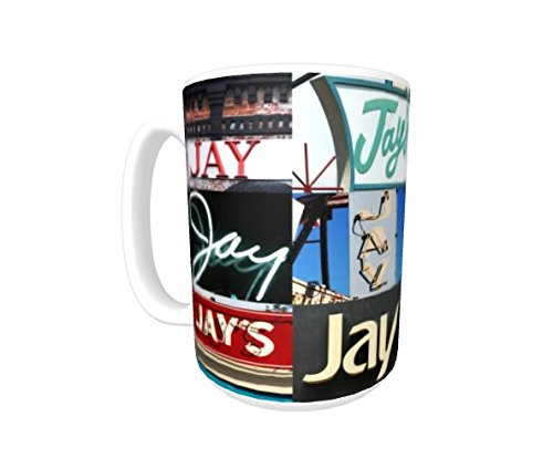 Cup JAY Coffee Mug using photos of real name signs personalized