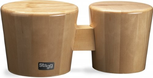 Stagg BWW10-N Wood Bongos by Stagg