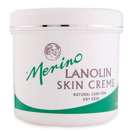 Dry Skin Lanolin Cream for Cracked Heels, Elbows and Soft Hands (Lansinoh Lanolin Cream)