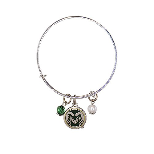 Fan Frenzy Gifts NCAA Colorado State Rams Bangle Bracelet