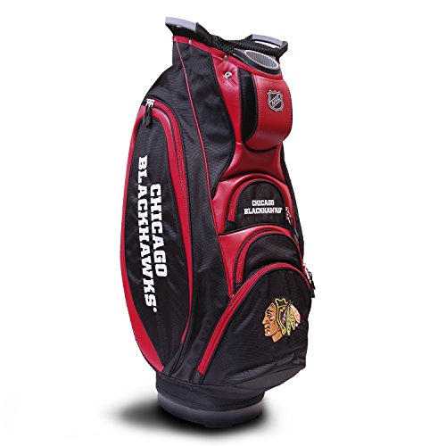 Chicago Blackhawks Bag - Team Golf NHL Chicago Blackhawks Cart Bag, Multicolor