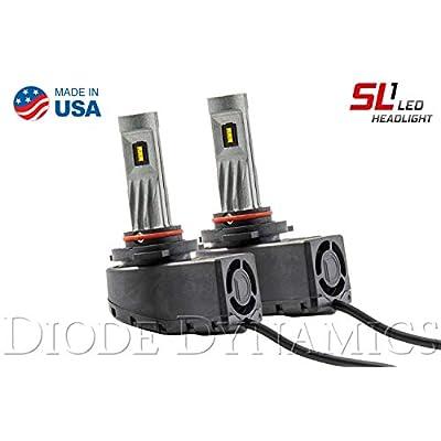 Diode Dynamics DD0218P 9005 SL1 LED Headlight Pair: Automotive